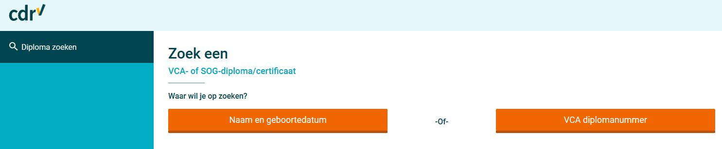 Centraal Diploma Register - in1keerVCA.nl
